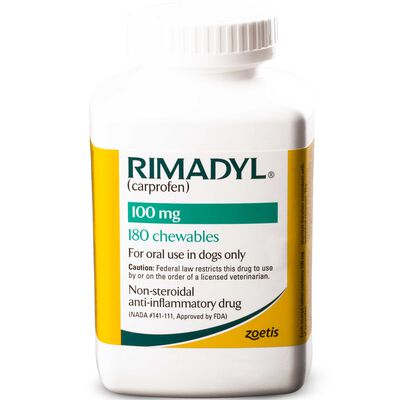Rimadyl 100 mg Chewables 180 ct