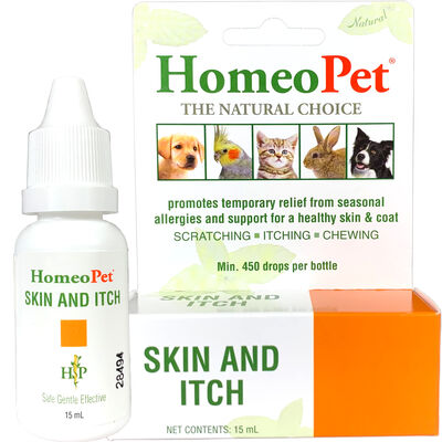 HomeoPet Skin and Itch 15 ml Bottle