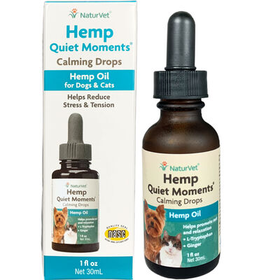 Hemp Quiet Moments Calming Aid Calming Drops 1 oz