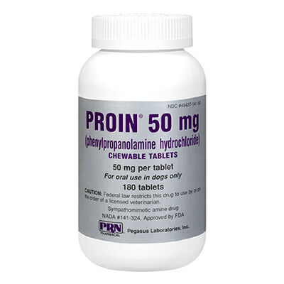 Proin 50 mg Chewable 180 ct