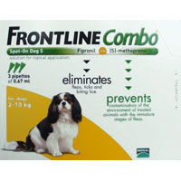 Frontline Plus Combo For Small Dogs Up To 22lbs Orange 12 Pipette