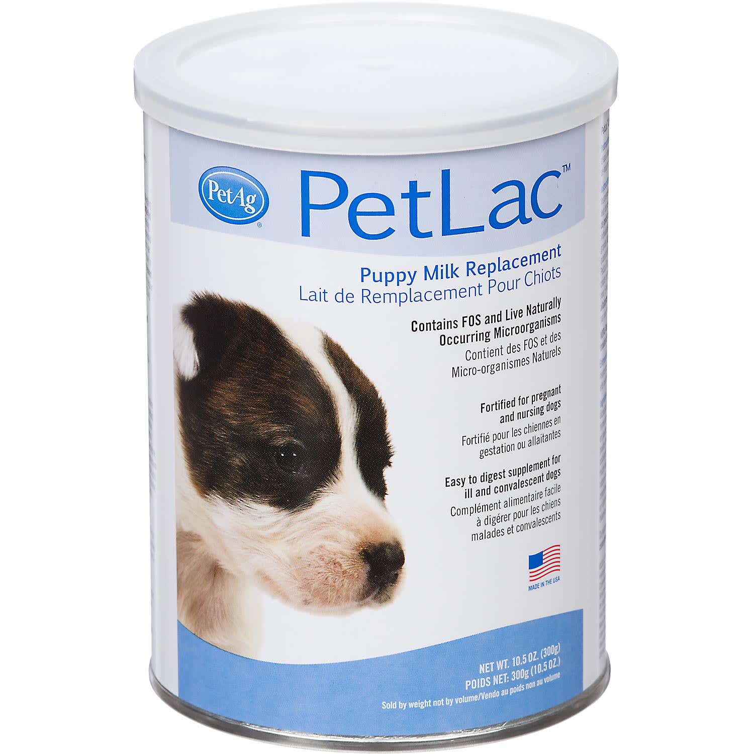 PetAg PetLac Puppy Milk Replacement, 10.5 OZ