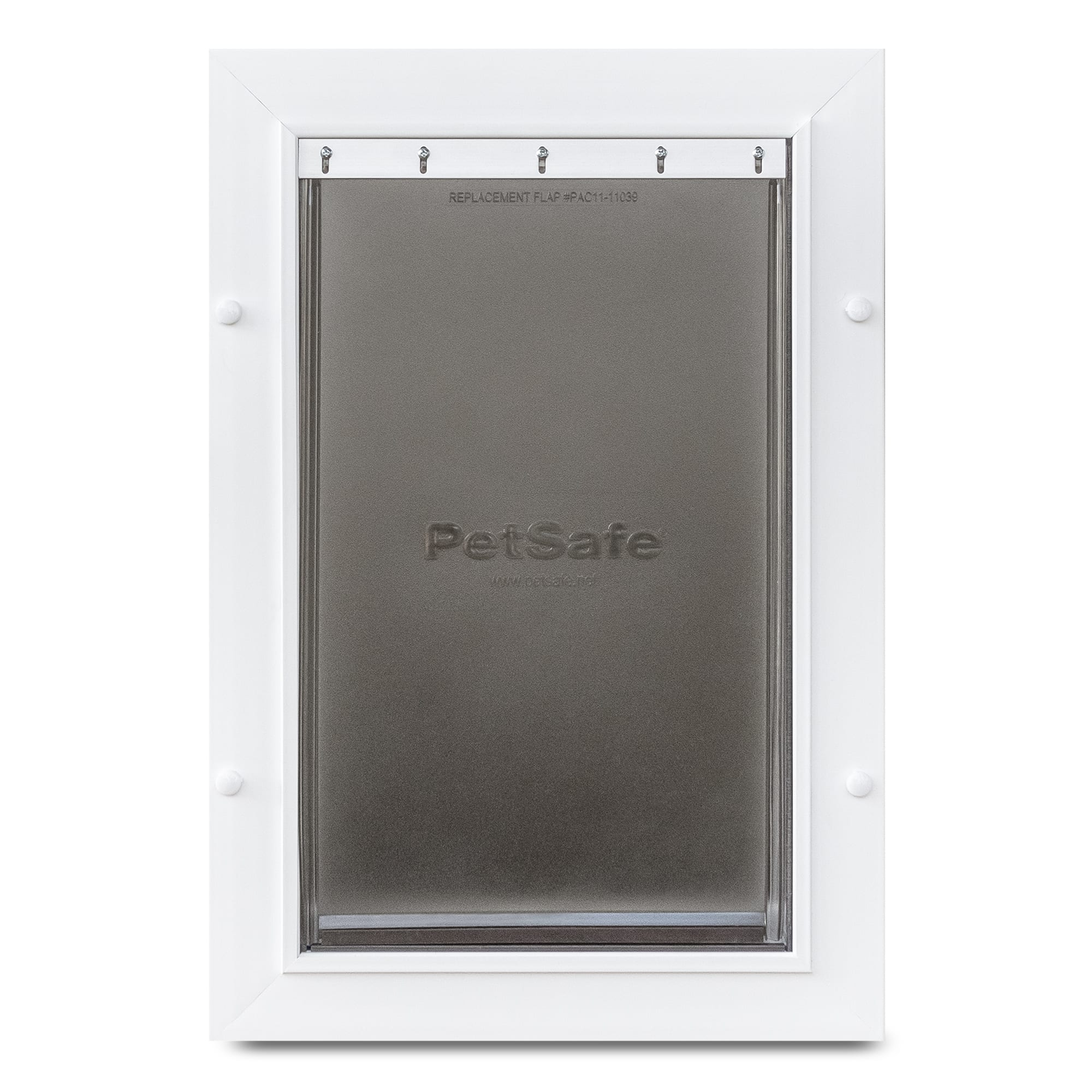 "PetSafe Wall Entry Plastic Pet Door, 8"" L X 15"" W X 22"" H, Large, White"