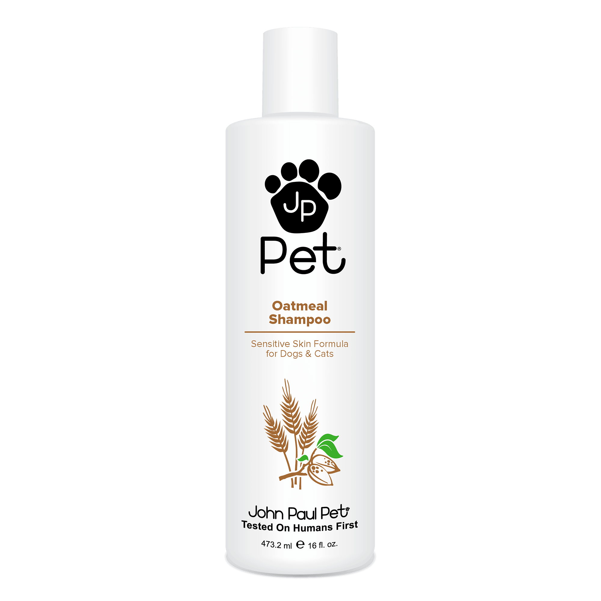 John Paul Pet Oatmeal Dog Shampoo, 16 FZ
