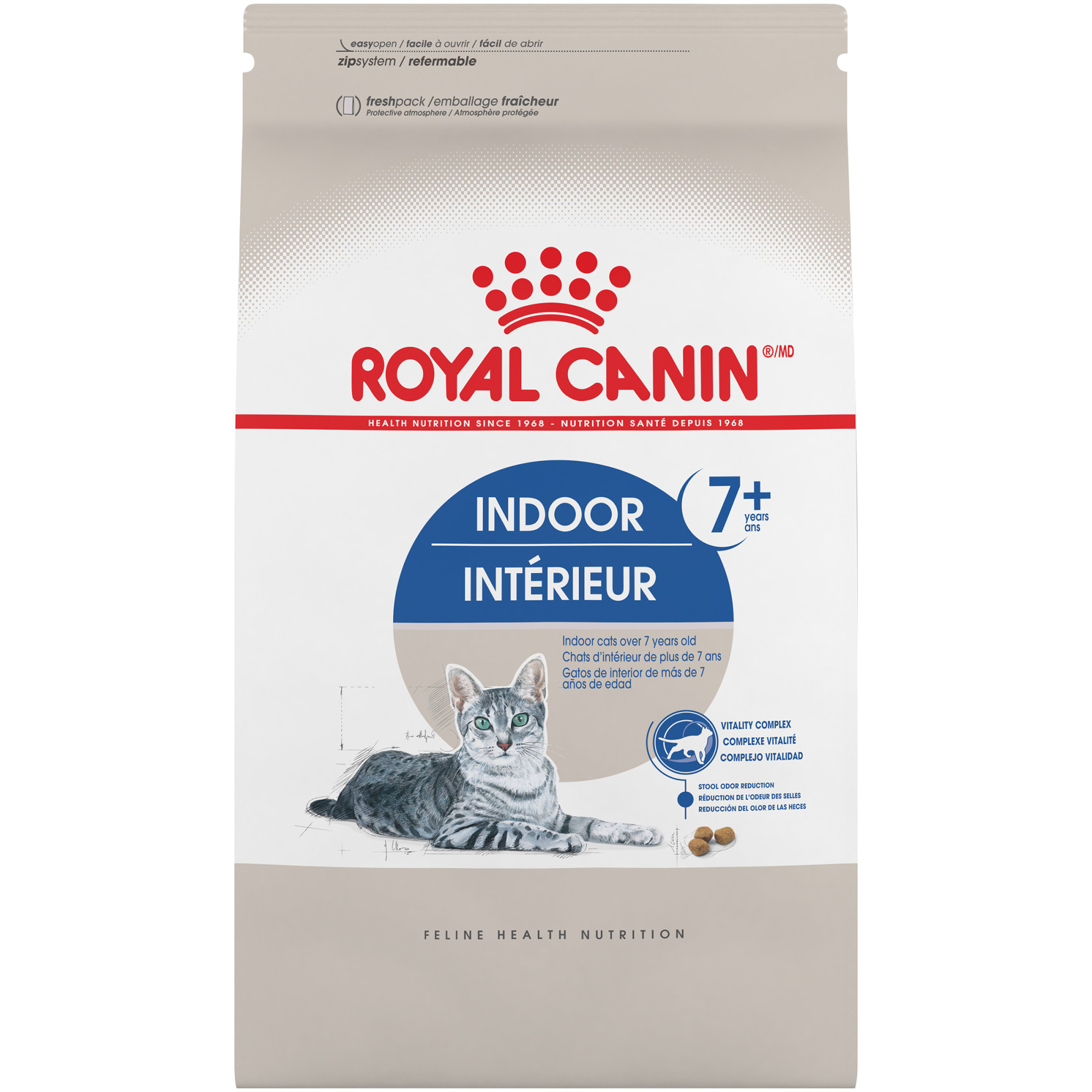 Royal Canin Indoor 7+ Adult Dry Cat Food