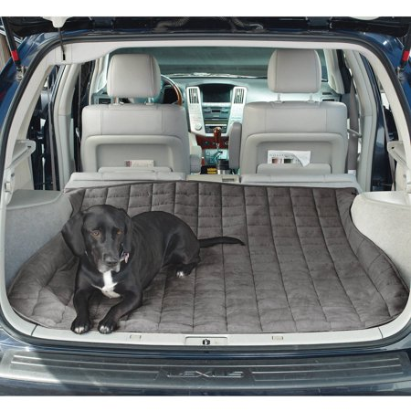 Sure Fit Soft SuedeSherpa Reversible Pet Cargo Cover Large
