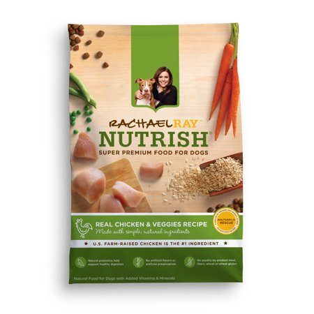 Rachael Ray Nutrish Natural Dry Dog Food Real Chicken  Veggies Recipe 14 lbs