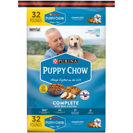 Purina Puppy Chow Complete  Balanced Dry Dog Food 32 Lb