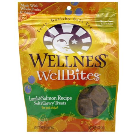Wellness WellBites Soft Natural Dog Treats 8 oz 8Pack