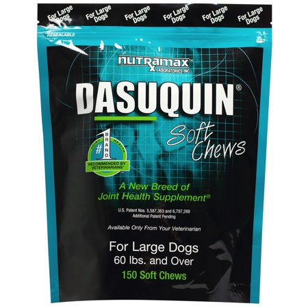 Nutramax Dasuquin Soft Chews for Large Dogs 60 Lbs  150 Count
