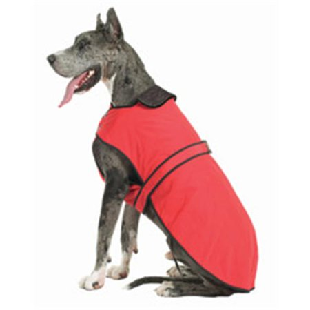 Muttluks BL38R 3Layer Belted Winter Dog Coat  Size 38 Red