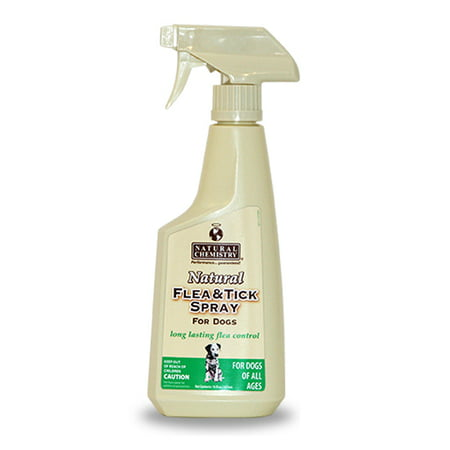 Natural Chemistry Natural Flea and Tick Spray for Dogs 16oz