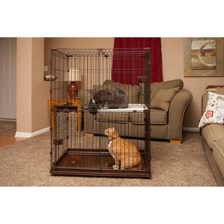 IRIS 2Tier Small Animal Wire Cage