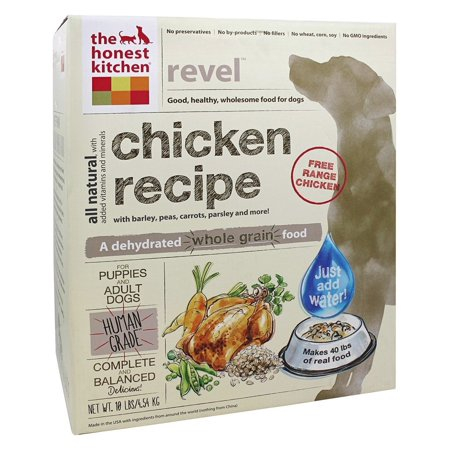 The Honest Kitchen Revel Chicken Dehydrated Dog Food 10 Lb
