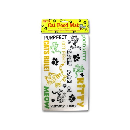 Cat Food Mat Pack Of 24