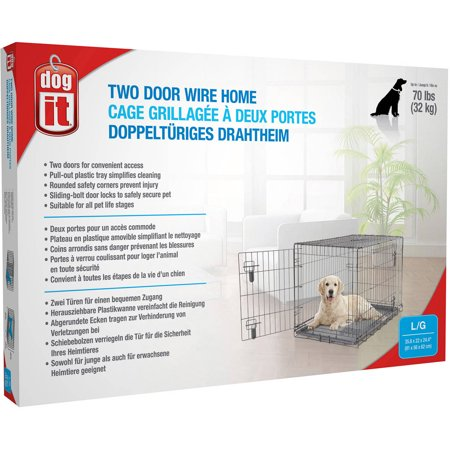 Dogit KD Dog Crate 2 Doors Large