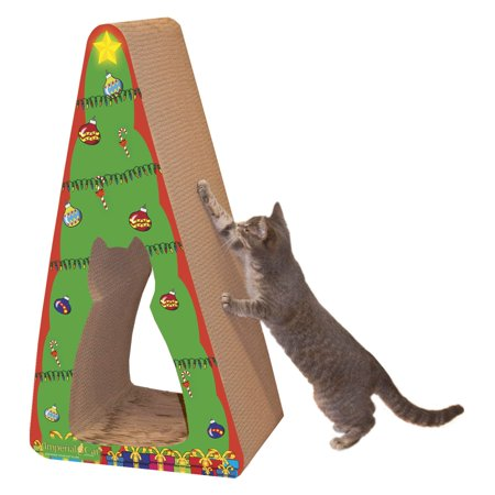 Imperial Cat Holiday Scratch n Shapes  Giant Christmas Tree 2in1