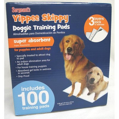 Yippie Skippy Training Pad 195 Count  01129