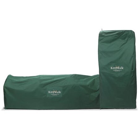 Kittywalk Outdoor Protective Cover for Kittywalk Teepee Green 48 x 48 x 72