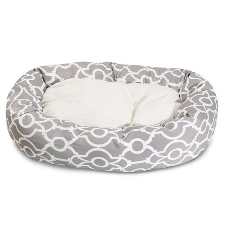 52inch Athens Sherpa Bagel Bed