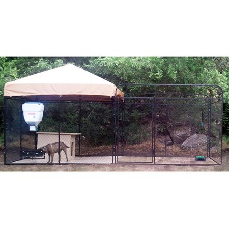 K9 Kennel Ultimate Welded Wire Steel Modular Yard Kennel