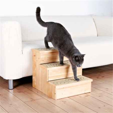 TRIXIE Pet Products 3943 Wooden Pet Stairs  Natural