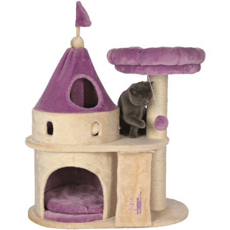 Trixie Pet Products My Kitty Darling Castle BeigeLilac