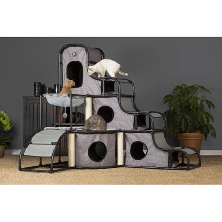 Prevue Pet Products Catville Tower Grey