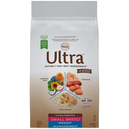 NUTRO ULTRA Small Breed Adult Weight Management Dry Dog Food 8 Pounds