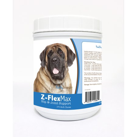 Healthy Breeds Mastiff ZFlex Max Hip  Joint Soft Chews 170 Count