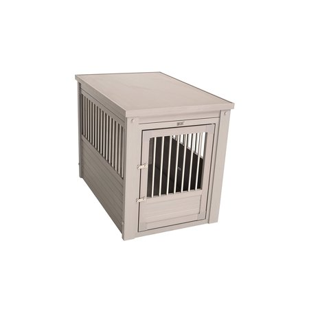 Ecoflex Dog Crate  Gray Large