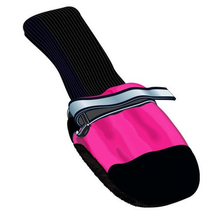 Muttluks FleeceLined Dog Boots in Pink Set of 4