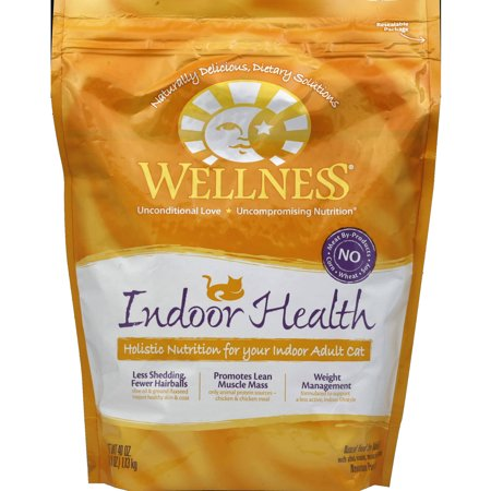 Wellness Cat Food Indoor Health Adult 40 oz 6Pack