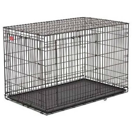 Midwest Life Stage A.C.E. Double Door Dog Crate Black 49.00 x 30.25 x 32.50