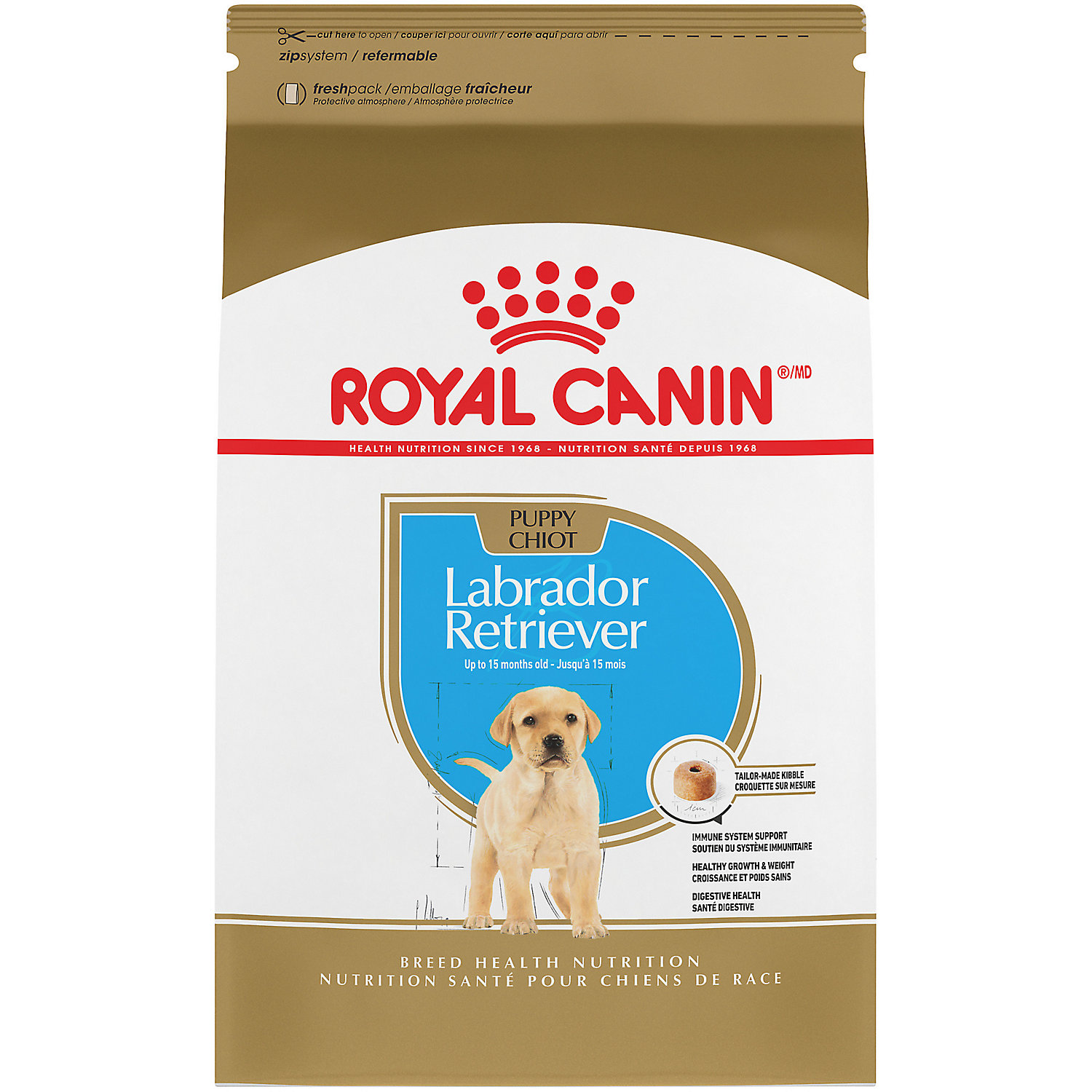 Royal Canin Breed Health Nutrition Labrador Retriever Puppy Dry Dog Food