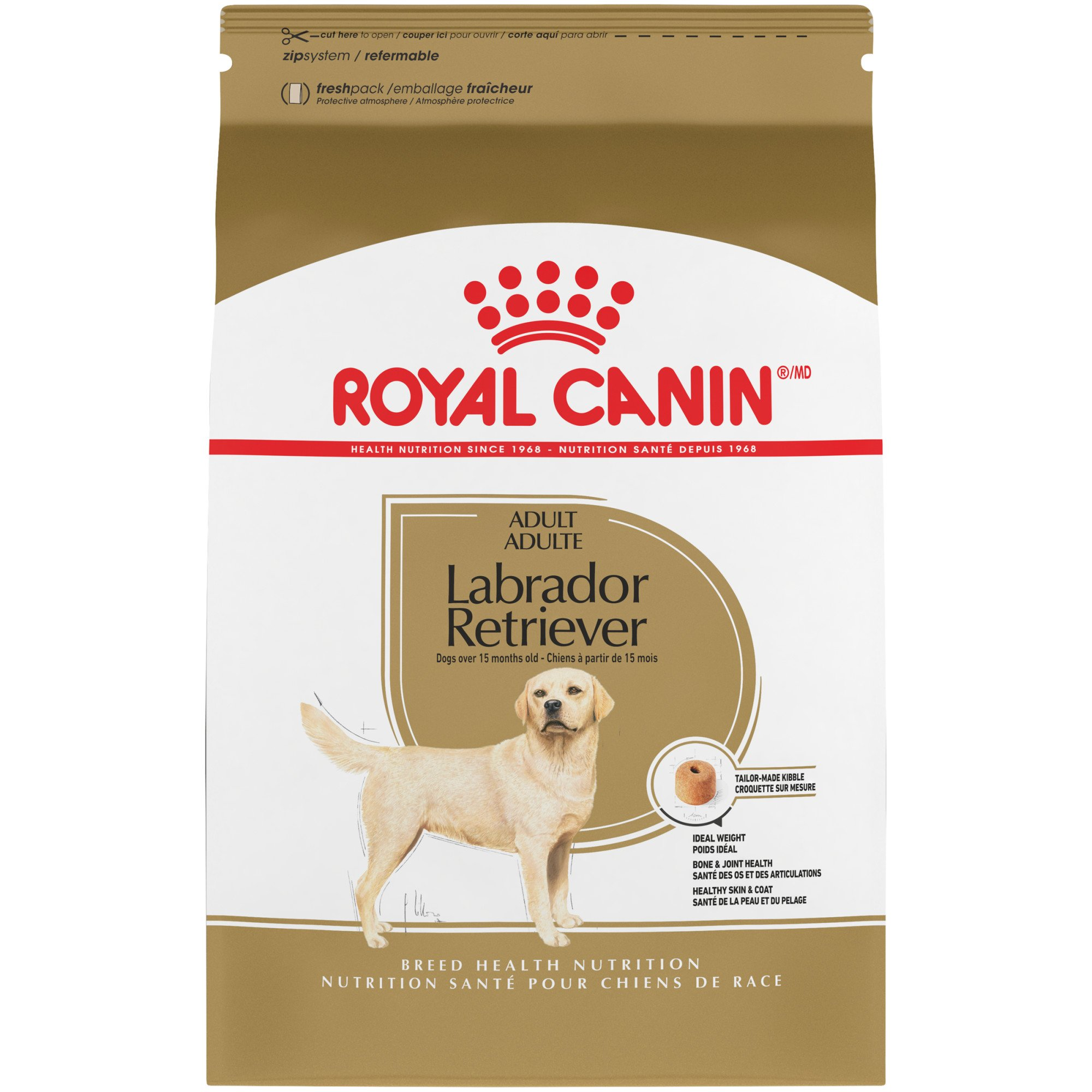 Royal Canin Breed Health Nutrition Labrador Retriever Adult Dry Dog Food 30 lbs.
