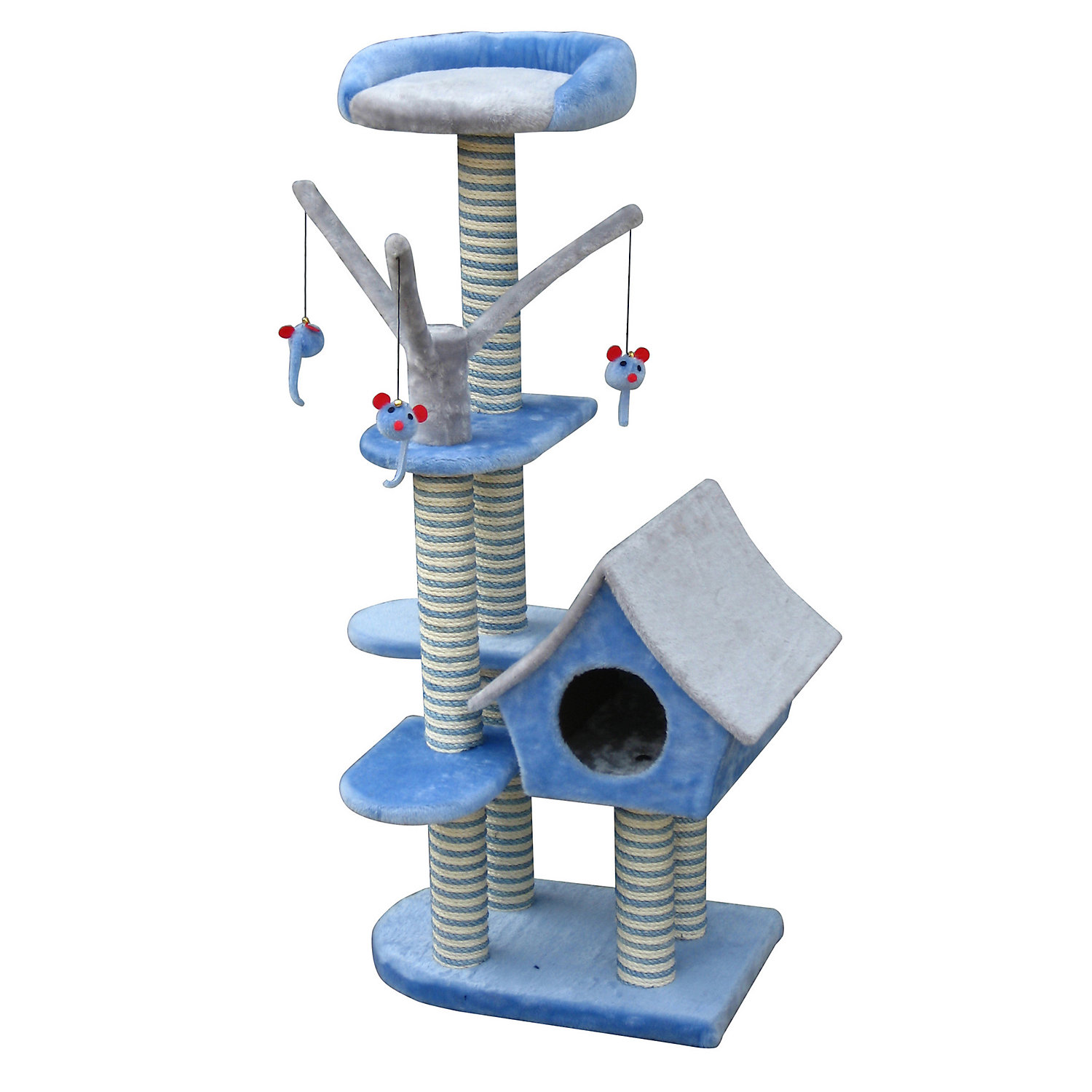 Penn Plax Cottage Activity Tower 50H 27.2 LB
