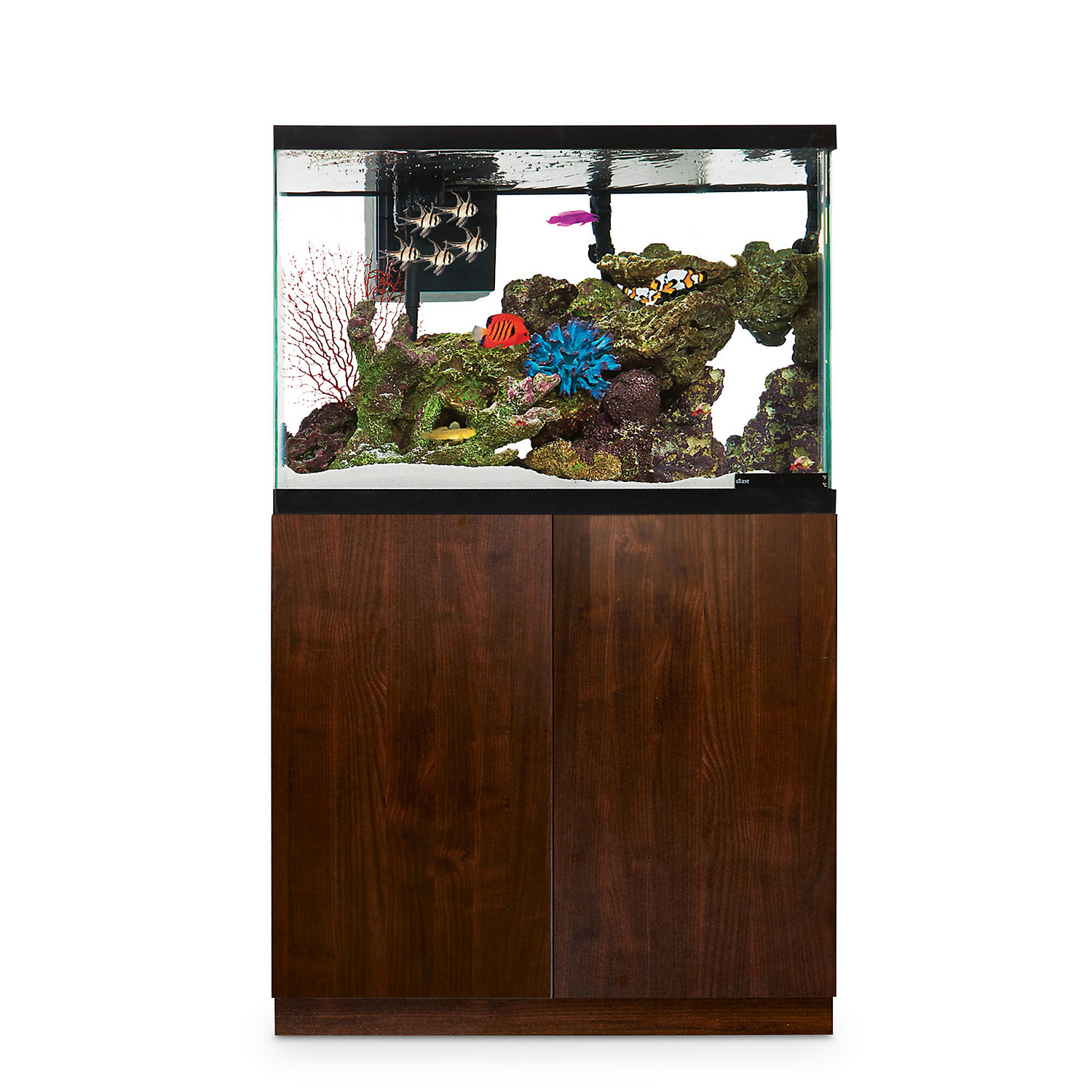 Imagitarium Faux Woodgrain Fish Tank Stand Up to 40 Gal.