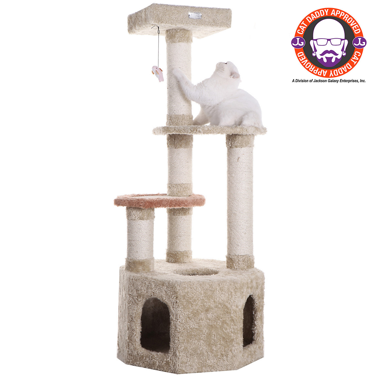 Armarkat Premium Cat Tree Model X5703 Khaki