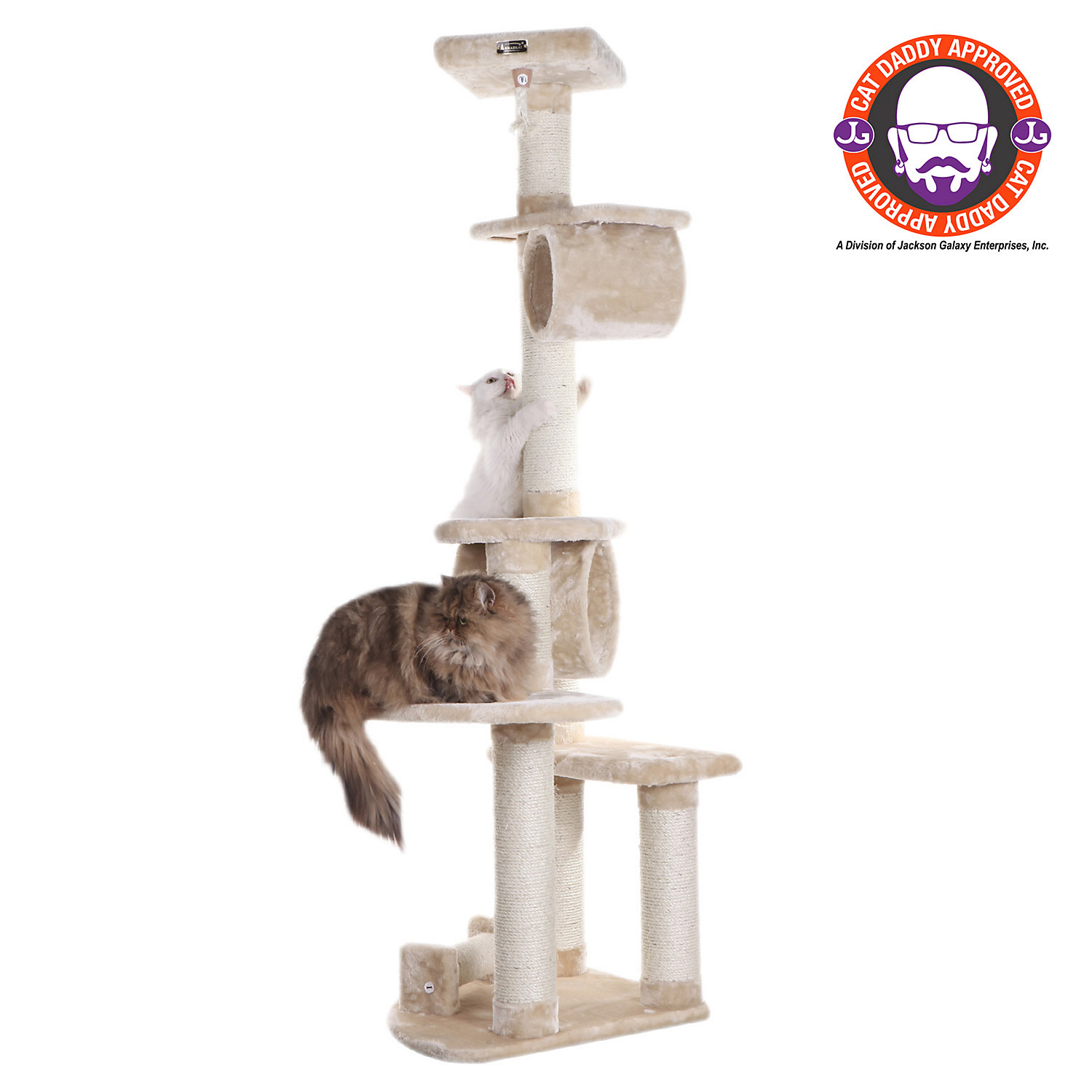 Armarkat Classic Cat Tree Model A7463A Beige