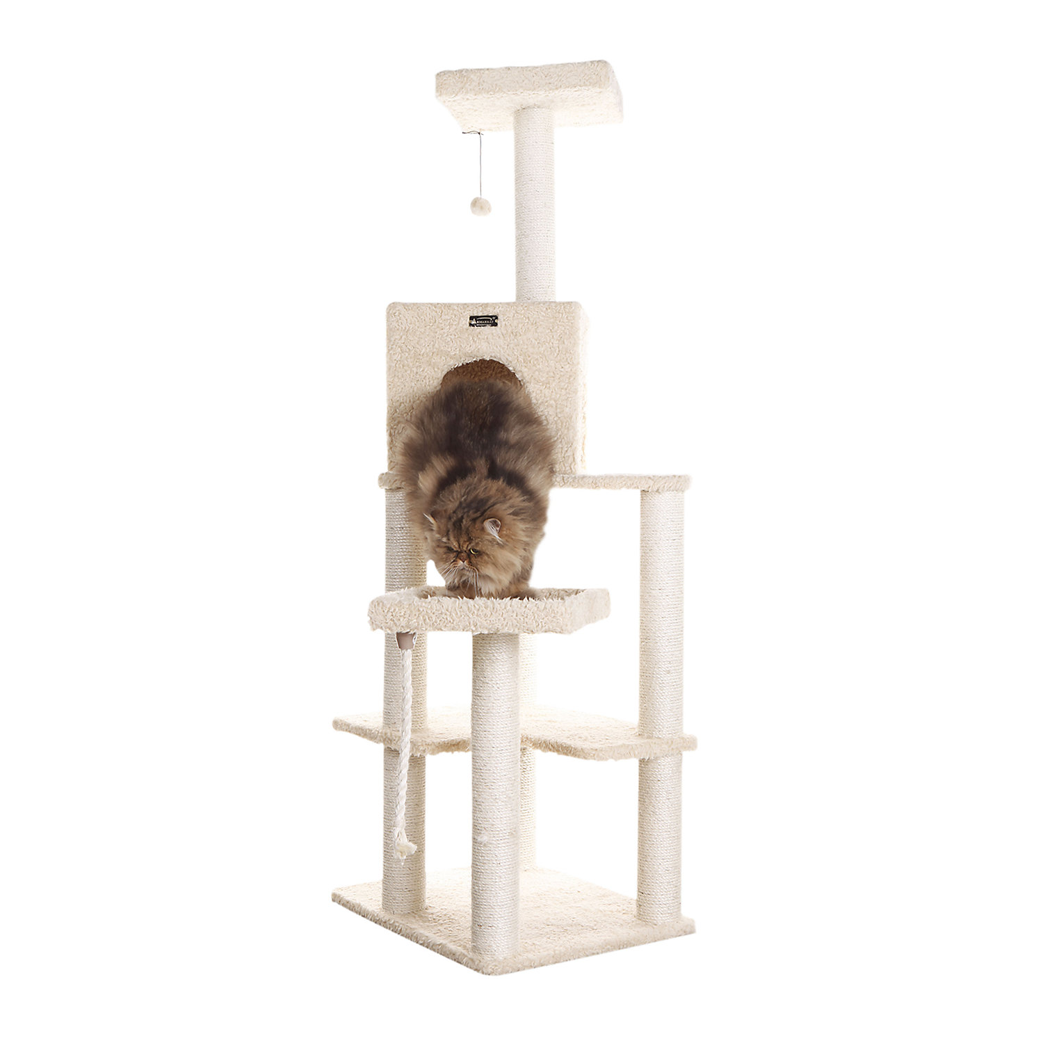 Armarkat Classic Cat Tree Model A6902 Beige