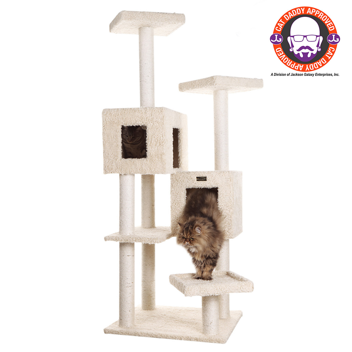 Armarkat Classic Cat Tree Model A6702 Beige