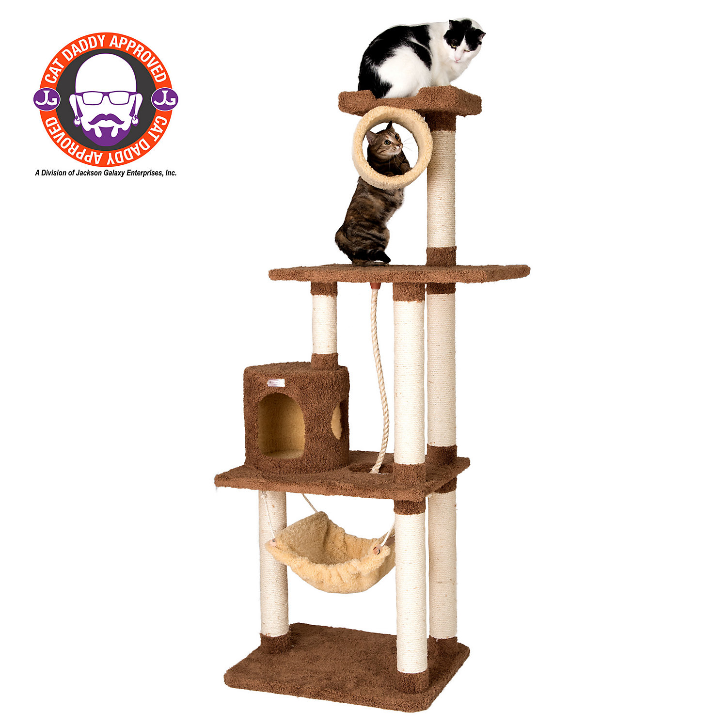 Armarkat Premium Cat Tree Model X7001 Tan