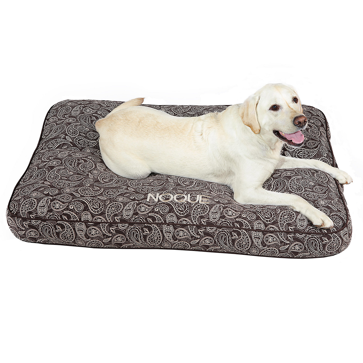 Doctors Foster  Smith Personalized Ultimate Classic Brown Paisley Dog Beds