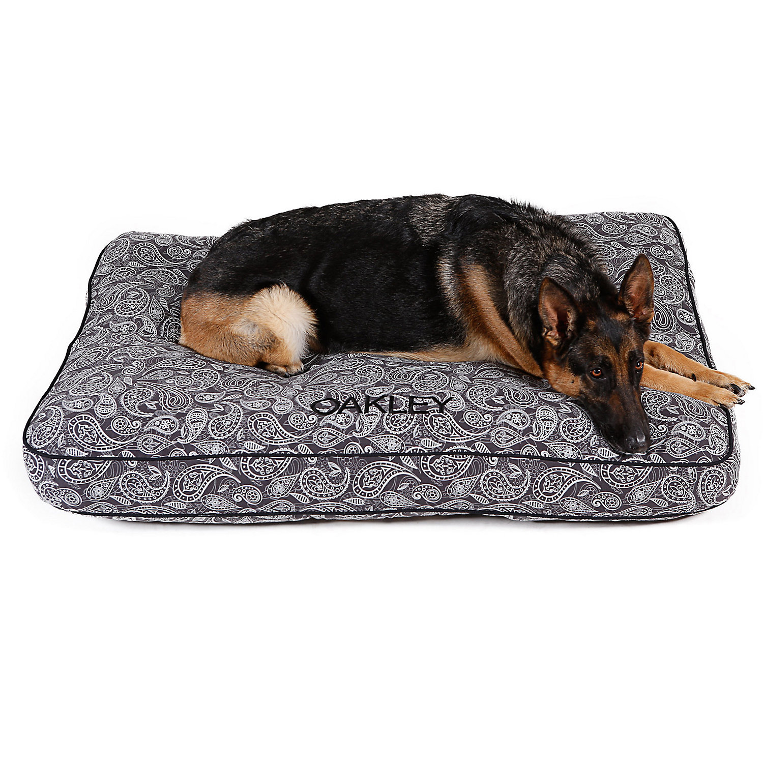 Doctors Foster  Smith Personalized Ultimate Classic Gray Paisley Dog Beds