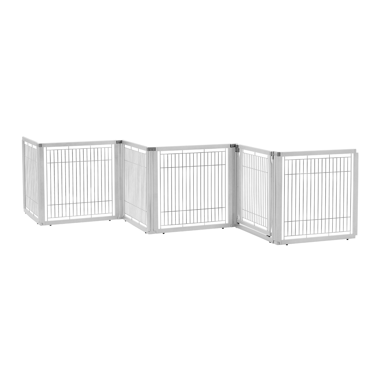 Richell Convertible Elite White Pet Gate 6 Panel
