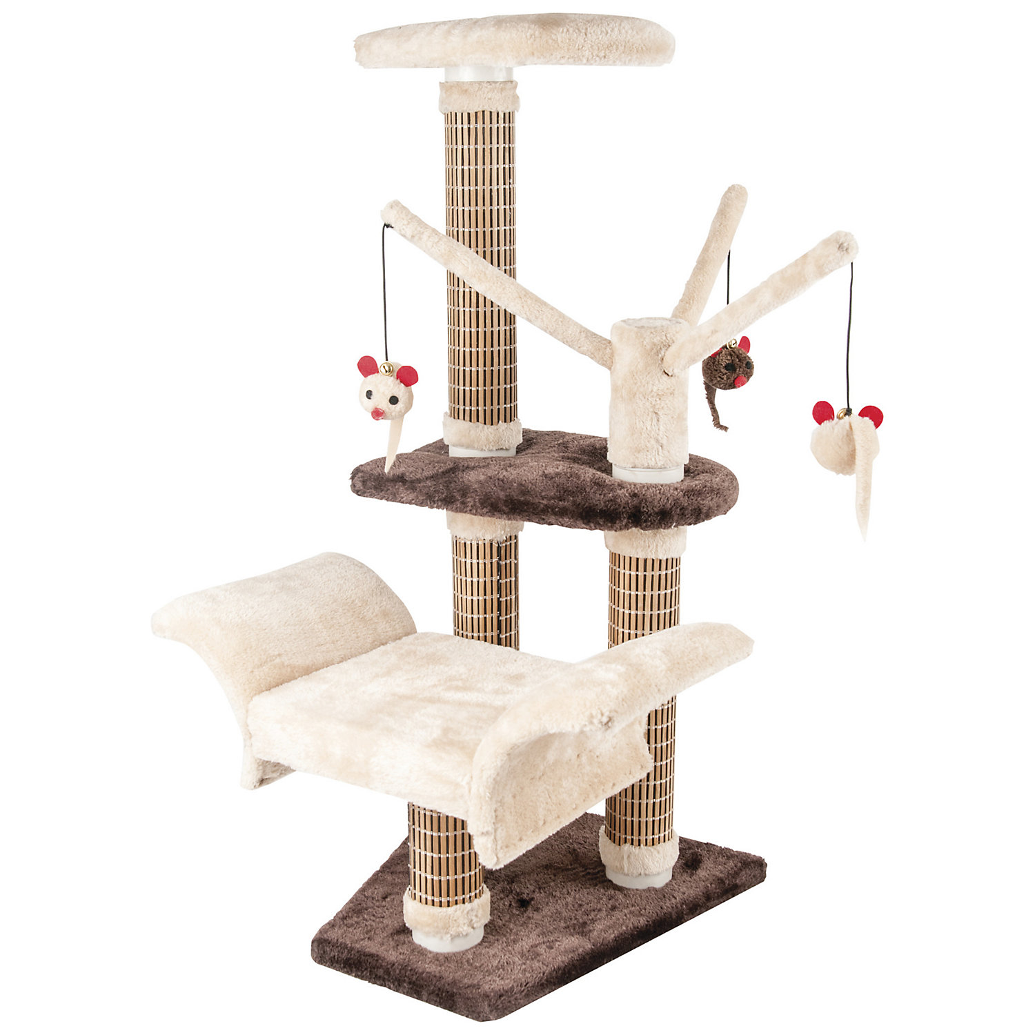 Penn Plax Cat Life SLS Scratcher Jungle Gym Activity Center