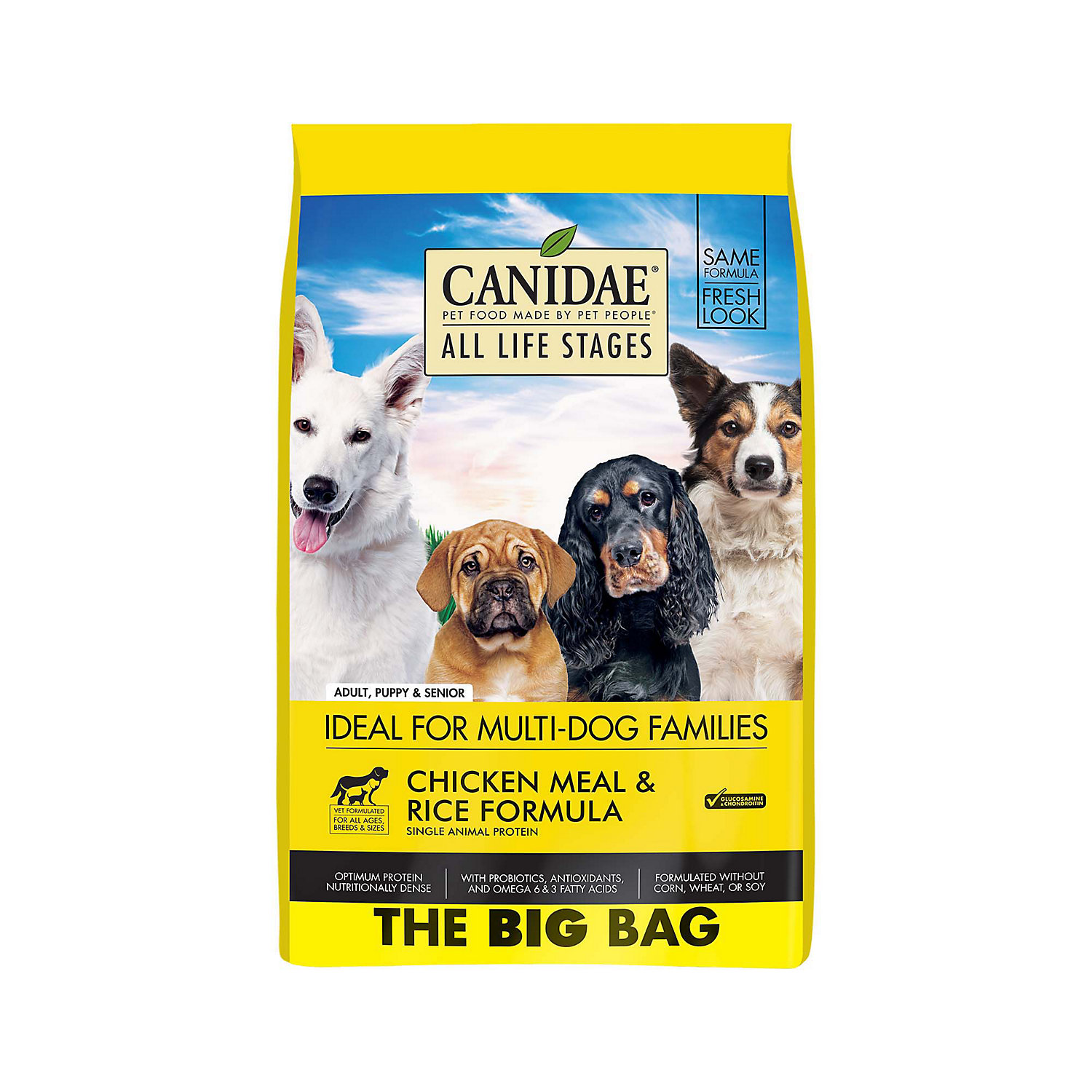 CANIDAE Grain Free PURE Dog Dry Food Chicken Meal  Rice Formula