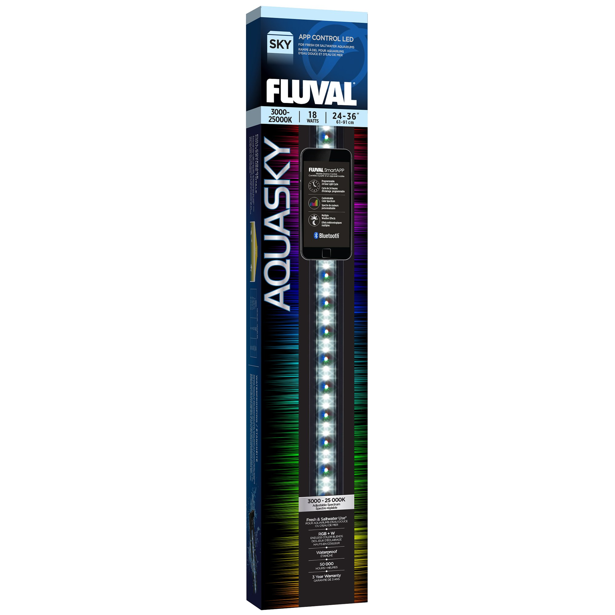 Fluval Aquasky LED Strip Light 18 Watts