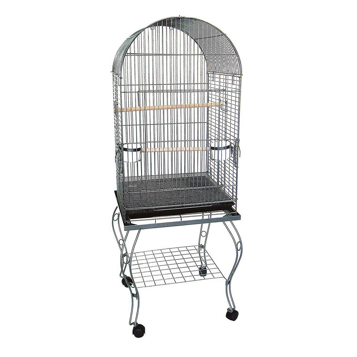 YML Dometop Silver Parrot Cage